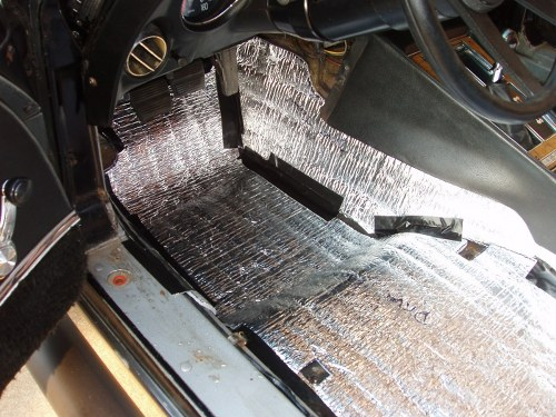Sound And Heat Proofing 1976 Corvette Restoration