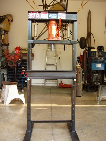 Homemade Hydraulic Press - Plans and