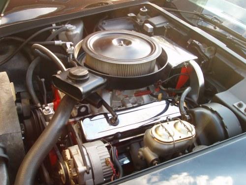 Corvette Engine Bay Restoration - Reassembly - 1976 Corvette Restoration ...